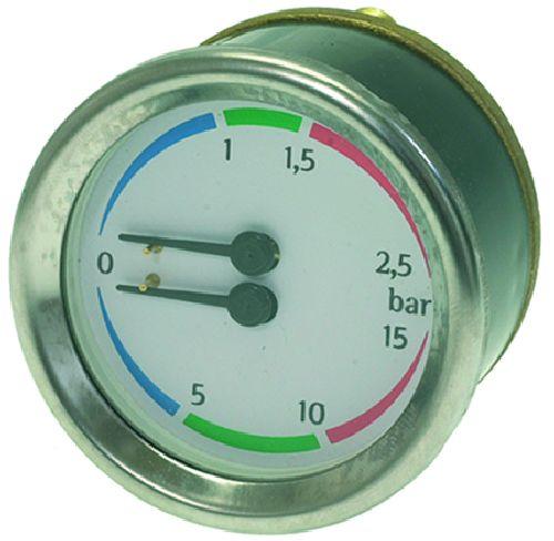 Boiler-pump Pressure Gauge Futurmat 60mm portable lcd digital manometer pressure gauge ht 1895 psi air pressure meter protective bag manometro pressure meter