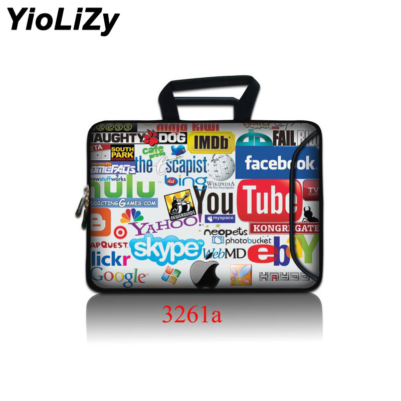 10 12 17.3 Laptop Bag with pocket Handbags tablet Case Notebook sleeve cover For Macbook AIR PRO Retina 11 13 15 15.6 SBP-3261