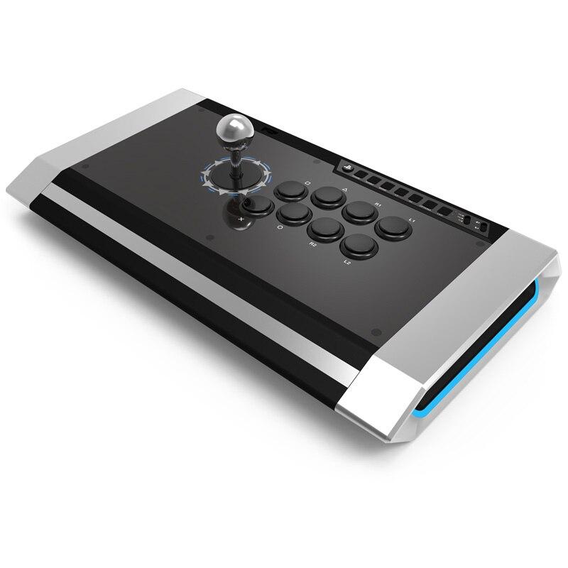 Qanba Q3-PS4-01 Ossidiana Joystick per PlayStation 4/3 PC Professionale di Gioco Gamepad per Gamer