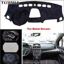 Tommia Car Dashboard Cover Mat Light Avoid Pad Photophobism Anti-slip protection For Buick Encore