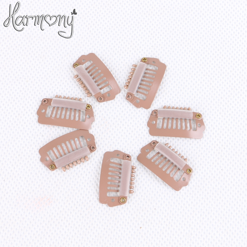 Free shipping!! 2000 pieces/bag 2.3cm 6 teeth U shape and 7 teeth I shape snap hair clips wholesale 6 colors for your choices shape i