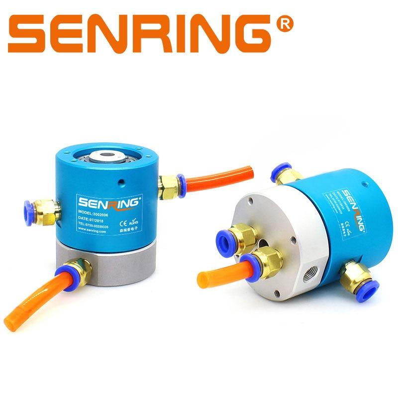Здесь можно купить  Slip Ring 2Passage Rotary Union 12/24 Wires Electrical Sliprings 5A Power Current Transfer with Port G1/8