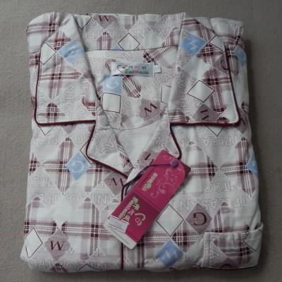 мужской весна и осень 100% хлопок с длинными рукавами пижамы пятидесяти лет большой размер очень большой размер 5xl гостиная комплект