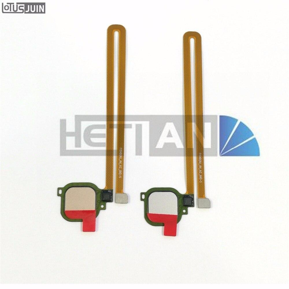 1 stücke ersatzteile Für Huawei Ehre V8 6X G9 PLUS Maimang 5 Fingerprint Taste Entsperren finger Key Sensor Flex Kabel Original