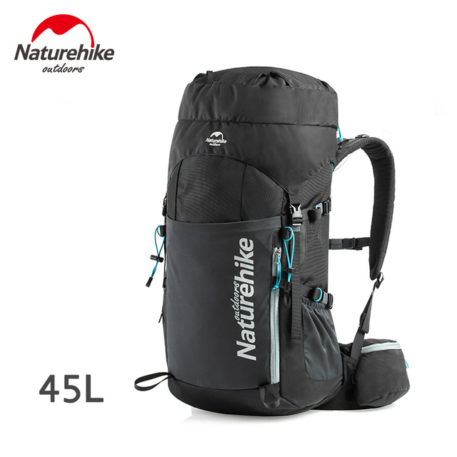 Naturehike 45L Backpacks - NH16Y065-Q Black