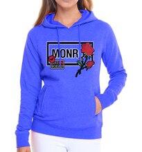 Monro Women Hoodies – Casual Wear Fleece