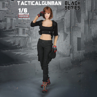 1:6 female clothing set doll clothes accessories 1/6 Tactical Military Combat Suit Set 12 For PHICEN Hot Toys Action Figure