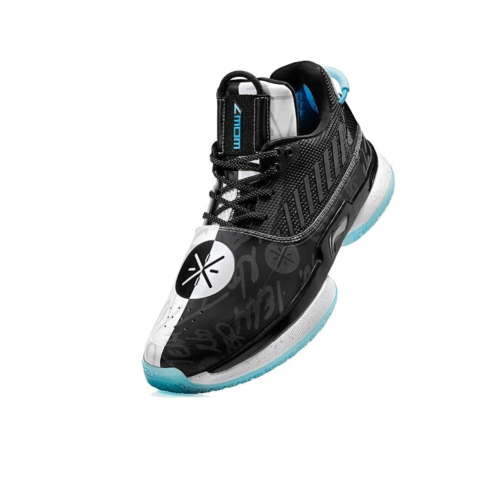 Li-Ning Men WOW 7 Team No Sleep Basketball Shoes wow7 CUSHION LiNing li ning CLOUD wayofwade 7 Sport Shoe Sneaker ABAN079 XYL212