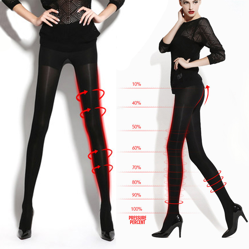 2016 Primavera Donne Sexy Leggings Neri Fare Gamba Più Sottile Skinny Compression Legging Nuovo Arrivo Leggings Plus Size
