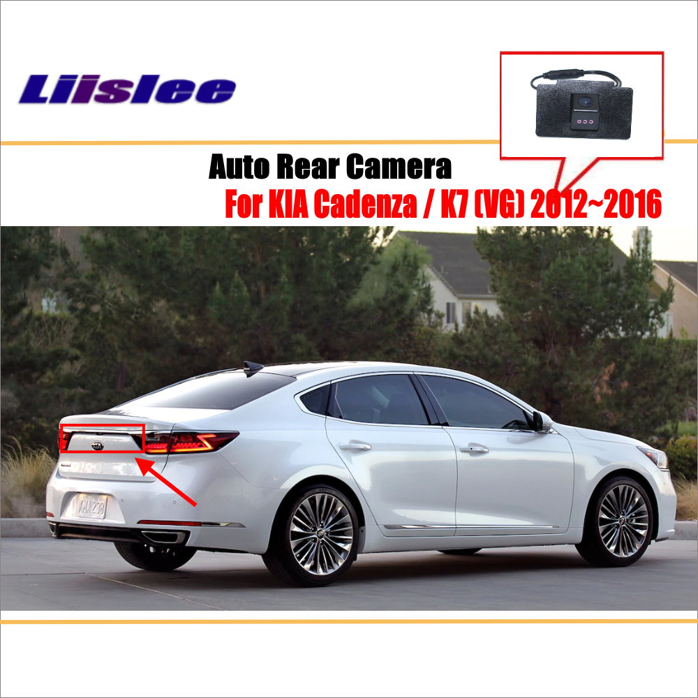 Detail Feedback Questions about Liislee Rear View Camera For KIA Cadenza /  K7 (VG) 2012~2016 / Reverse Hole / Parking Back Up Camera / Night Vision on  ...