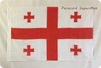 Флаг Джорджии Бесплатная доставка 3ft x 5ft подвесной флаг из полиэстера баннер Джорджии 150x90 см для торжества большой флаг