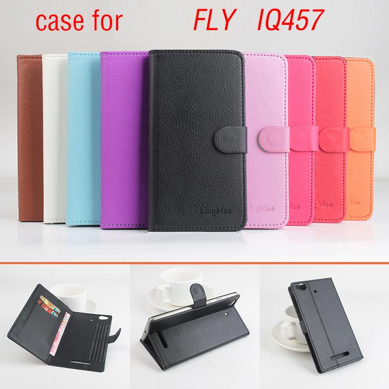 Phone case for FLY IQ457 About Flip Cover Mobile Phone Bags.