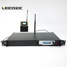 Фотография Leicozic Professional ear monitors L9200 SR2000 in ear wireless monitor system 1 transmitter 1 receiver stage monitoring system