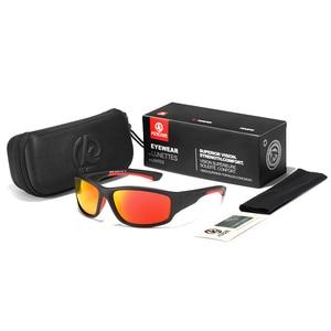 Image 2 - KDEAM Unbreakable TR90 ספורט משקפי שמש גברים מצוין חיצוני נהיגה משקפיים חליפת עבור כל פנים גווני KD712