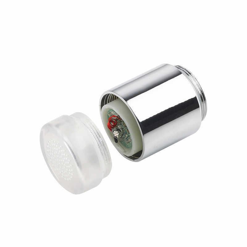 温度制御の led 蛇口ライトの温度センサーインテリジェント LED 水タップ色水蛇口ノズル不要バッテリー