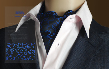 цена на Fashion Vintage Brand Mens 100% Silk Long Scarf/Cravat Scarives Black Dot Spring Autumn Winter
