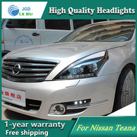 Auto Clud Style LED Head Lamp For Nissan Teana 2008 2012 Led Headlights Signal Led Drl