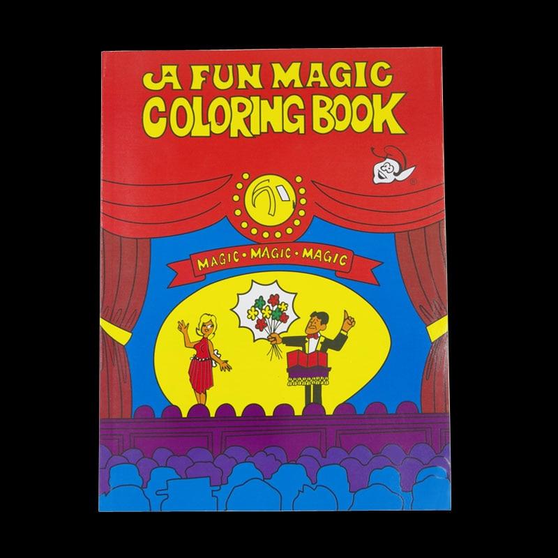 A Fun Magic Coloring Book Large size Magic tricks Mentalism Stage