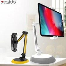 Yesido C33 Universal Lazyแท็บเล็ตผู้ถือขาตั้งโทรศัพท์ยืดหยุ่นโต๊ะโทรศัพท์มือถือMount HolderสำหรับiPhone Samsung iPad
