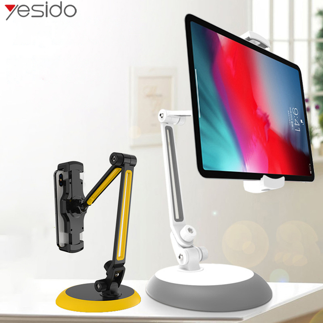 Yesido C33 supporto universale per telefono cellulare pigro supporto da tavolo flessibile supporto per telefono cellulare supporto per iPhone supporto per iPad Samsung