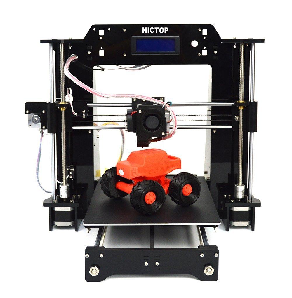 Impresora Prusa I3 3D Printer 10.6 x 8.3 x 7.7inch Printing Size SD Card