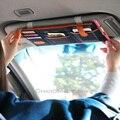 Chegada nova Multifunções Automóvel Acessórios Interiores Auto Sombrinha Capa de Sol Carro Viseira CD Titular Pendurado Saco Do Telefone