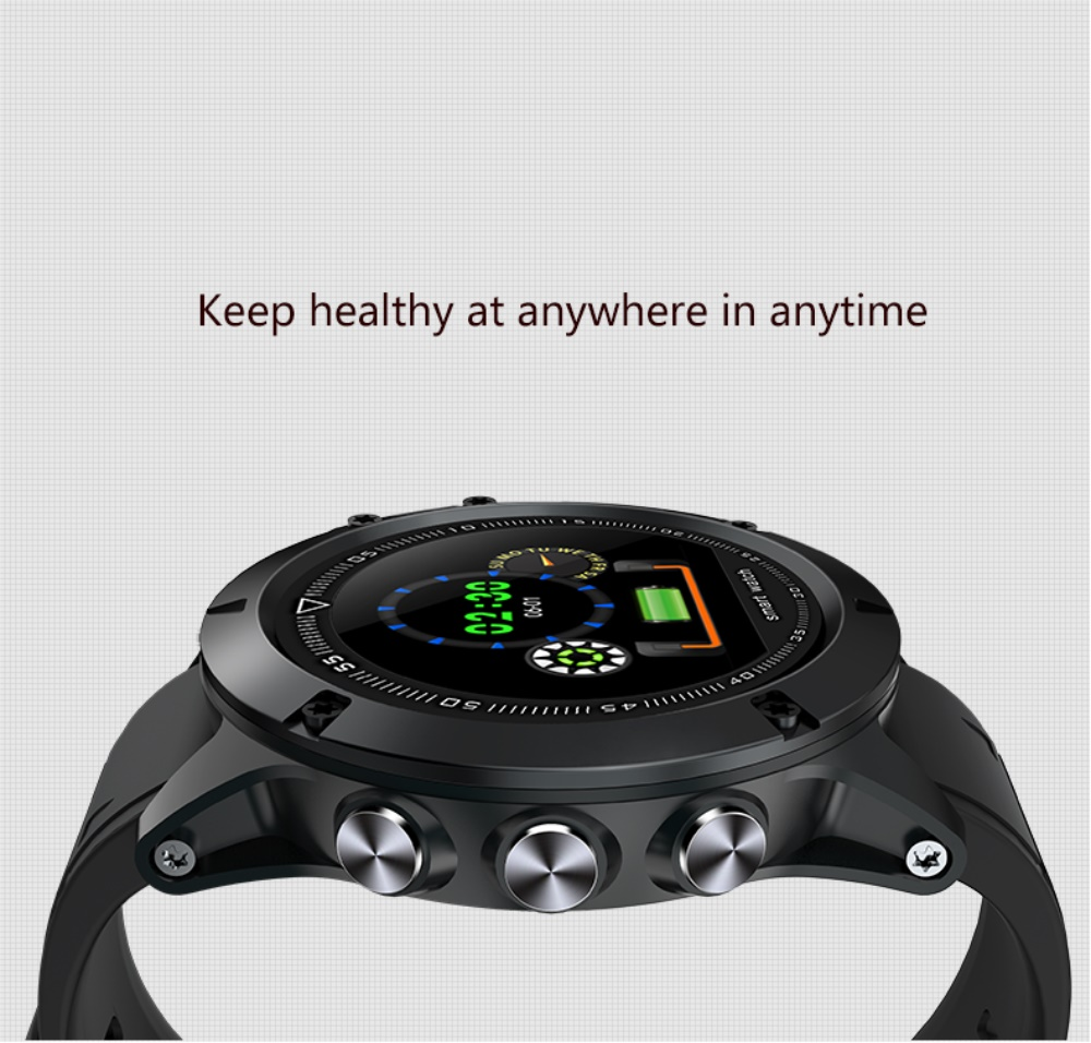 696 L11 Men Smart Bracelet Heart Rate Blood Pressure Fitness Tracker IP68 Waterproof Smart Watch for Android IOS smart phone 3
