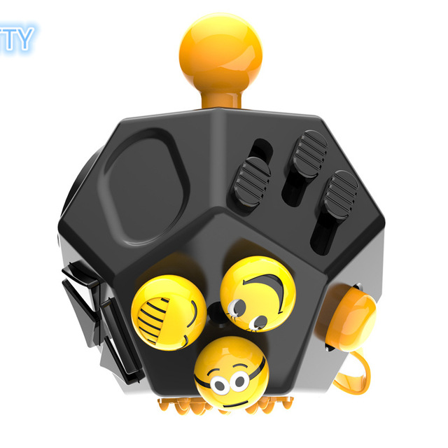 New Upgraded Version Magic Fidget Cube A Vinyl Desk Toy Anti Irritability Toys Cobe Best Gifts For Relaxation In Cubes From