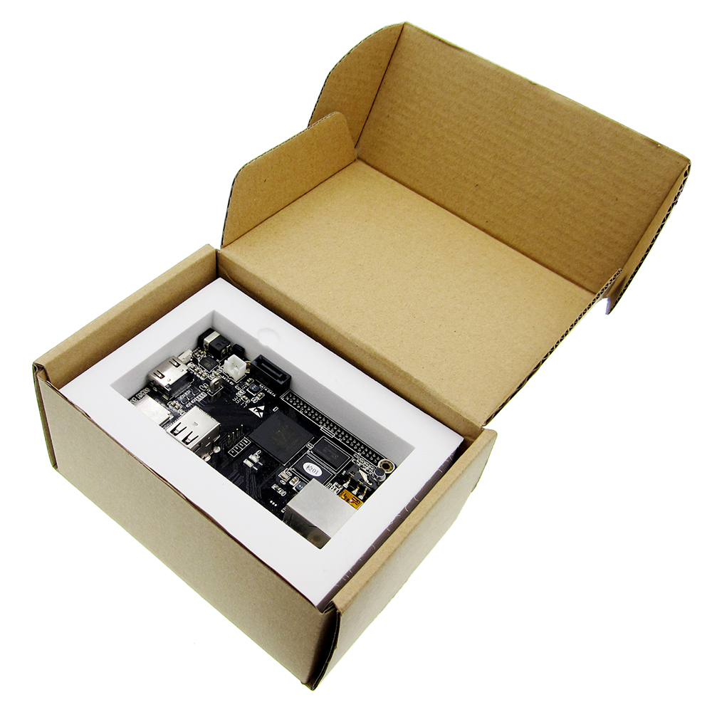 цена на 1pcs PC Cubieboard A20 Dual-core Development Board , Cubieboard2 dual core with 4GB Nand Flash Game Module