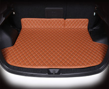 High quality car trunk mat for Mitsubishi ASX 3D TPE+XPE Anti-slip  leather trunk pad Customized  floor mat 3D car style