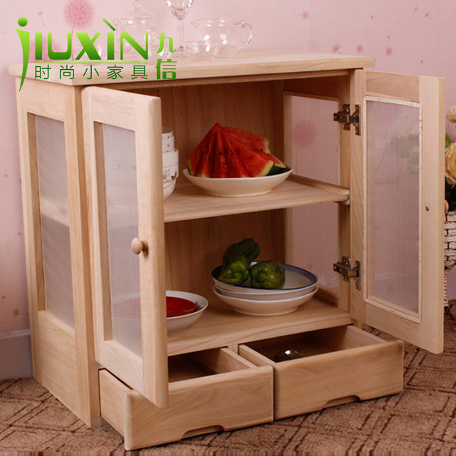 Food Storage Cabinet With Doors Mesmerizing Foreign Wood Cupboard Cupboard Simple Fruit Dish Cabinet Kitchen