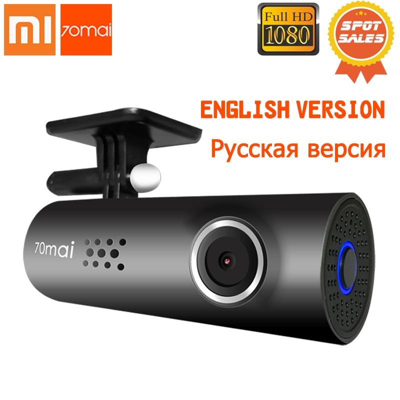 Xiaomi 70 Minutos 70mai Inteligente WiFi Carro DVR Visão Noturna Traço Cam 130 Graus Mstar FHD 8328 p Sony IMX323 1080 p 30fps Câmera Do Carro