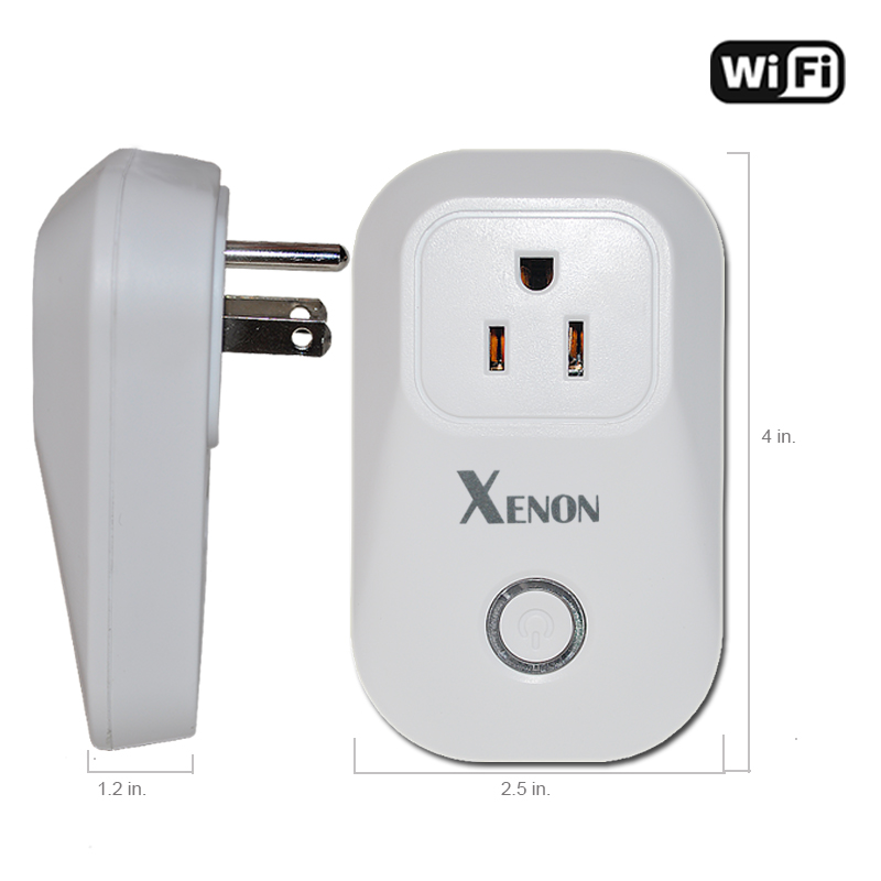 Xenon US wifi power socket plug outlet  Wireless Controls Works with Alexa and Google Assistant рюкзак vivienne westwood vivienne westwood vi873bwvbz09
