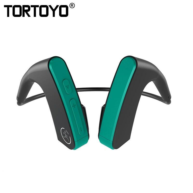 TORTOYO E1 os Conduction Bluetooth écouteur sans fil casque de sport de plein air CVC basse 3D stéréo oreille crochet Bluetooth casque