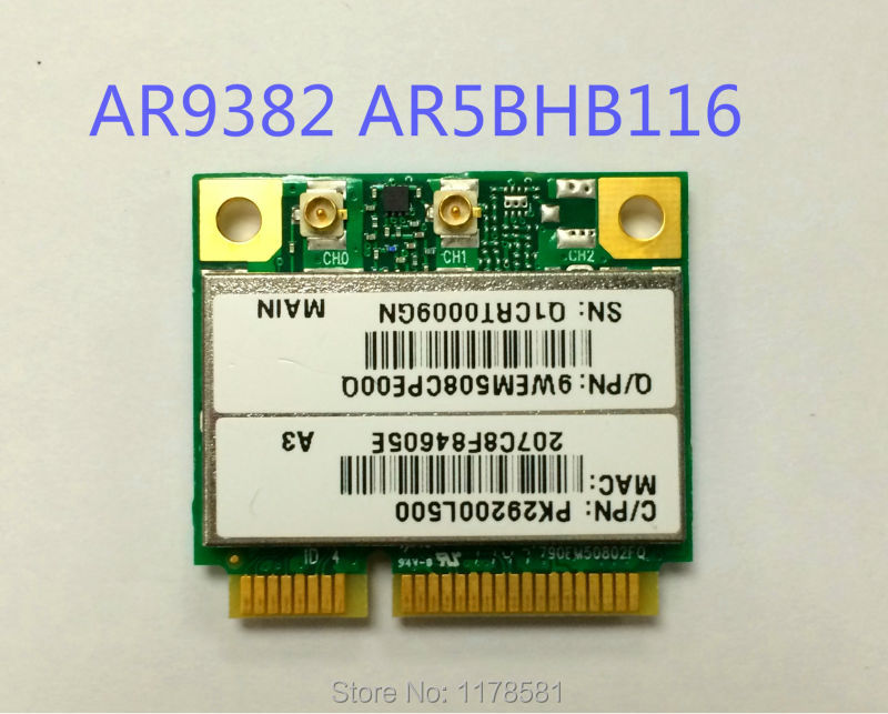 ATHEROS AR9382 WIFI ADAPTER DRIVER