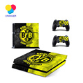 For PS4 Borussia for play station 4 consoles with 2pcs controller Vinyl skin stickers For ps4 Decal Cover Game Accessories