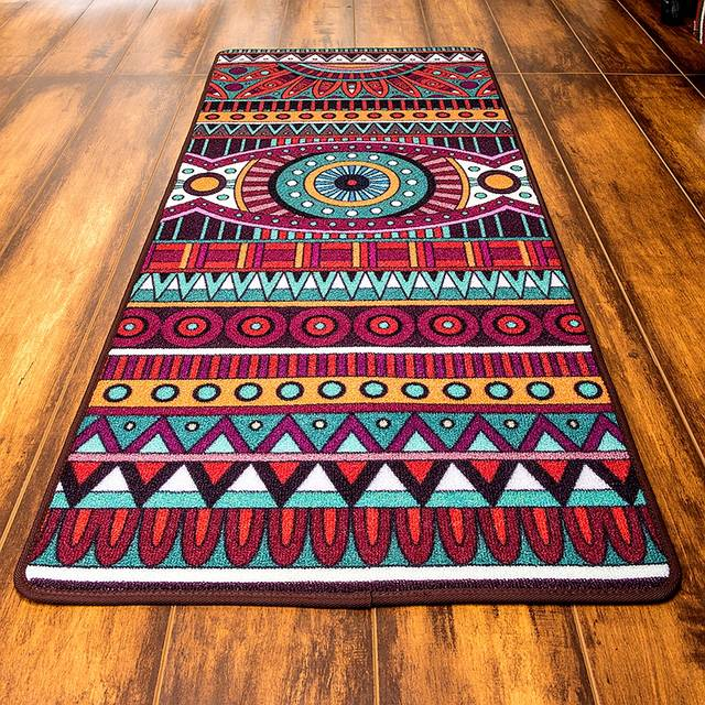 Online Shop Cigi Vintage Long Floor Mat Anti Skid Bedroom Carpet