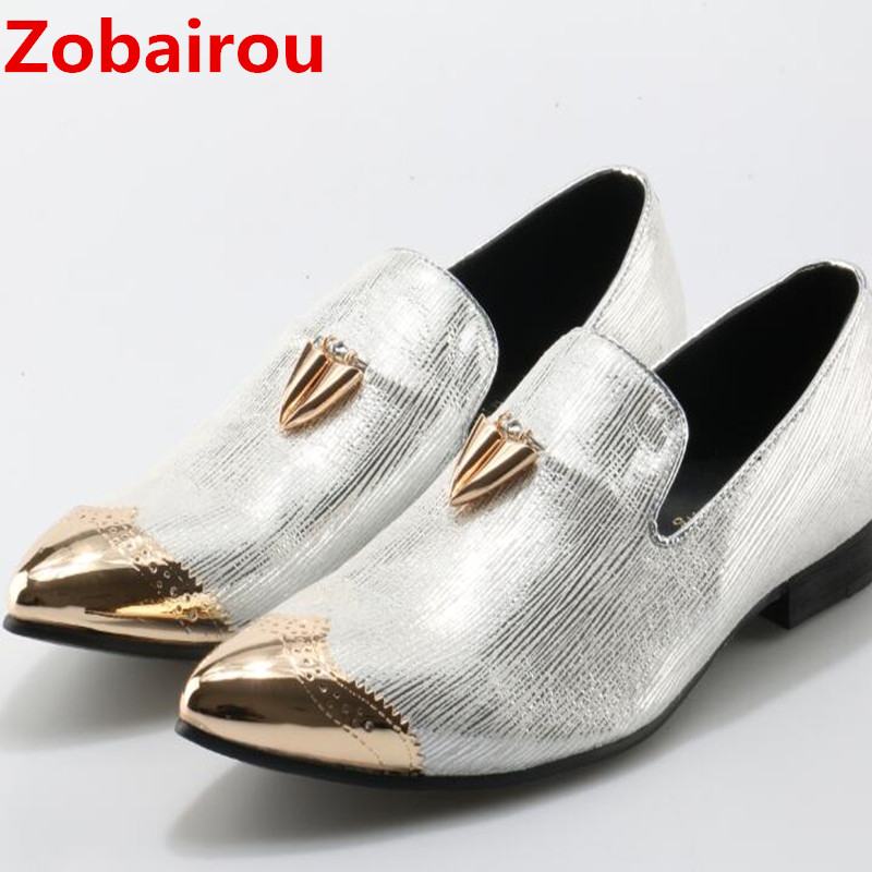 Здесь продается  Zobairou sapato social men shoes leather slipon luxury gold tassel mens loafers dress shoes fashion casual shoe lasts   Обувь