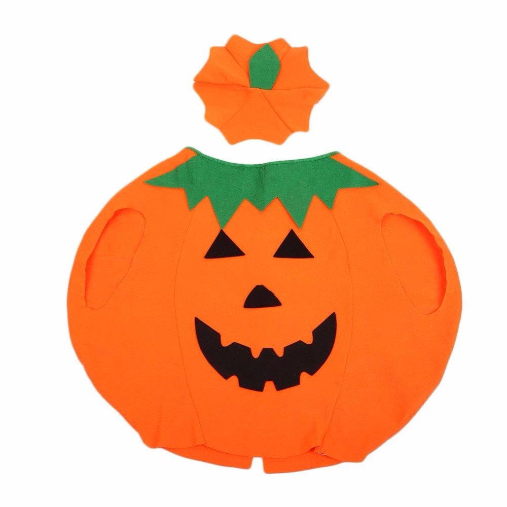 Popular Sale Halloween Decoration Clothes Costumes Pumpkin Halloween Children Outfit Clothes For Children Kids Vicky 2