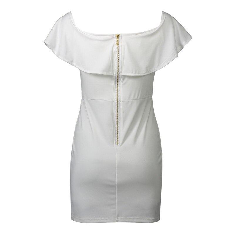 HTB1GMkKRpXXXXXWapXXq6xXFXXXY - FREE SHIPPING Summer Dress Women Black White Sexy Off Shoulder Embroidery JKP313