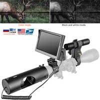 Alcance de visión nocturna caza óptica vista táctica 850nm infrarrojo LED IR cámara infrarroja impermeable dispositivo de visión nocturna caza