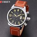 Curren 8200 Luxury Brand Fashion Casual Men Watches Complete Calendar Sport Watch Auto Date Male Wristwatch Reloj
