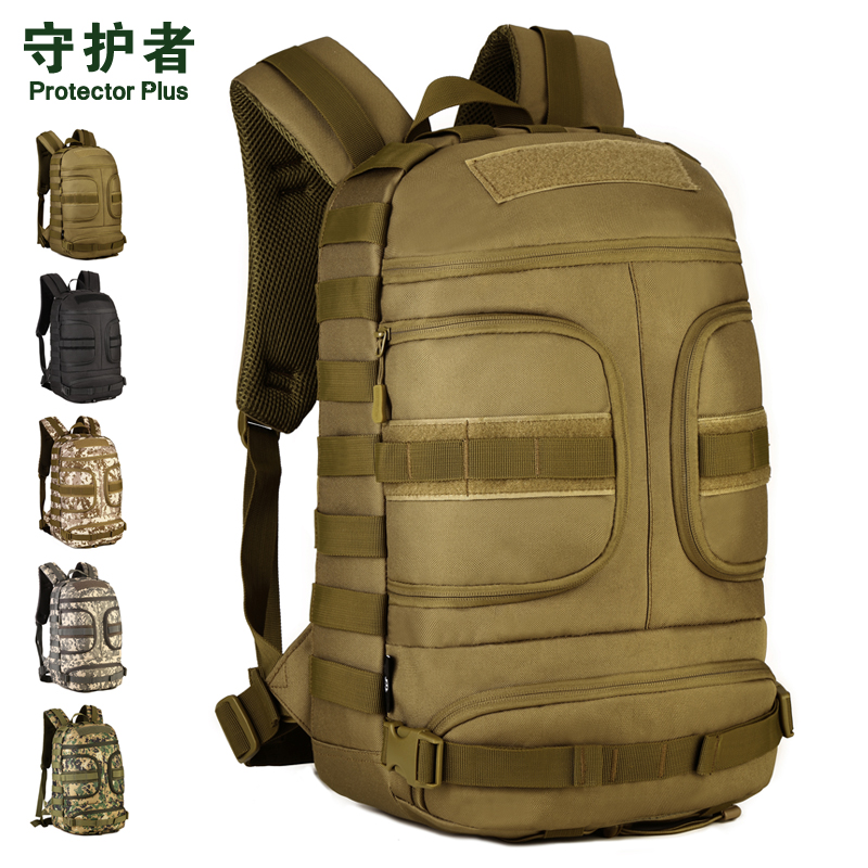 Protector Plus S434 Outdoor Sports Bag 35L Camouflage Nylon Tactical Military Trekking Backpack Hiking Cycling Camera Bag 2018 a outdoor sports tactical backpack camping men s military bag nylon for cycling hiking climbing trekking camouflage bag