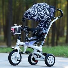 Baby three wheeled cart baby bike baby walker