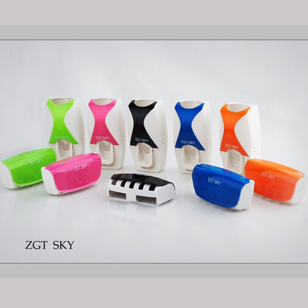 Novelty bathroom accessories Automatic toothpaste dispenser ...