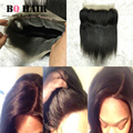 BQ HAIR 8A Grade Full Lace Frontal 360 with Baby Hair Raw Indian Virgin Hair Straight Extensions Remy Cheap Bundles Peruk Beauty