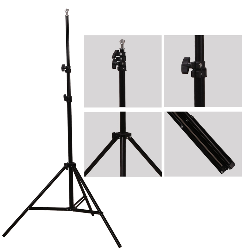 GSKAIWEN Backdrops Frame Background Support System Photography Studio Background Holder Camera Photo Accessories with Carry Bag 6