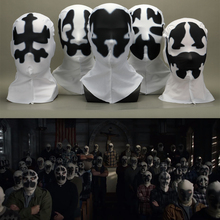American TV Watchmen Cosplay Rorschach Walter Kovacs Masks Headgear Printing Full Face Mask Halloween Cosplay Accessories Props kovacs kovacs cheap smell 2 lp colour