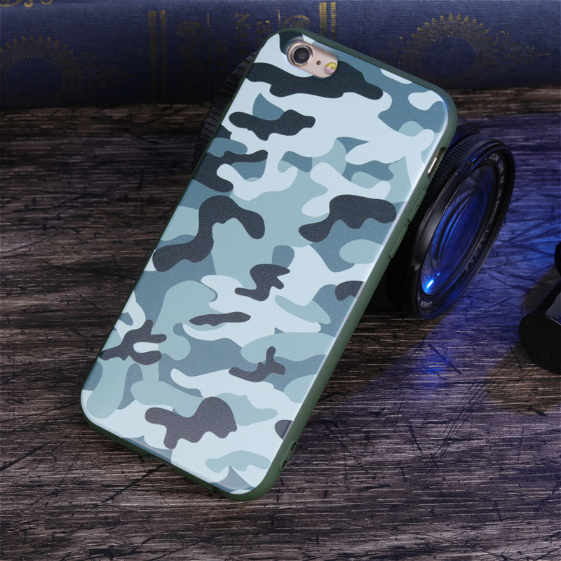 coque iphone 6 camouflage silicone