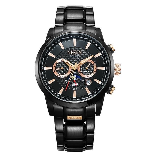 Swiss Luxury Brand NESUN Watch Multifunctional Display Automatic Self-Wind Watch 1